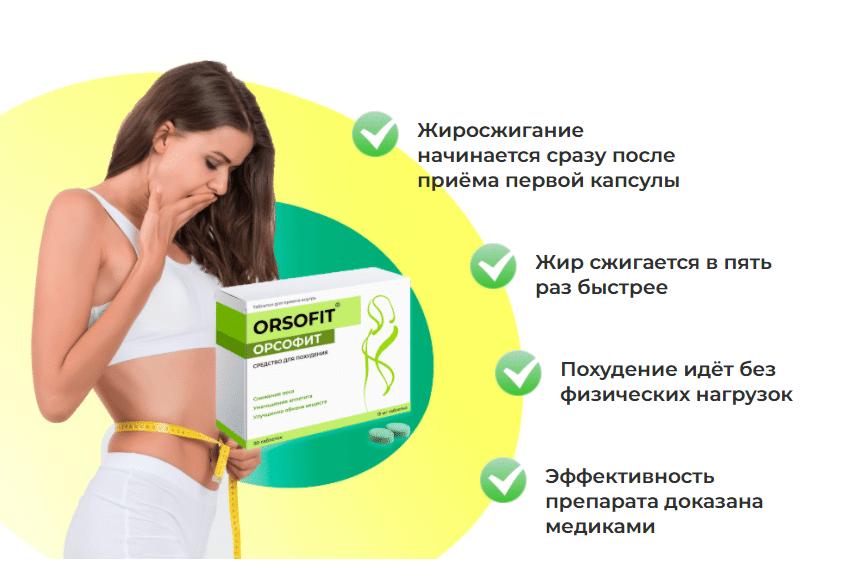 Орсофит (Orsofit) - средство для снижения веса