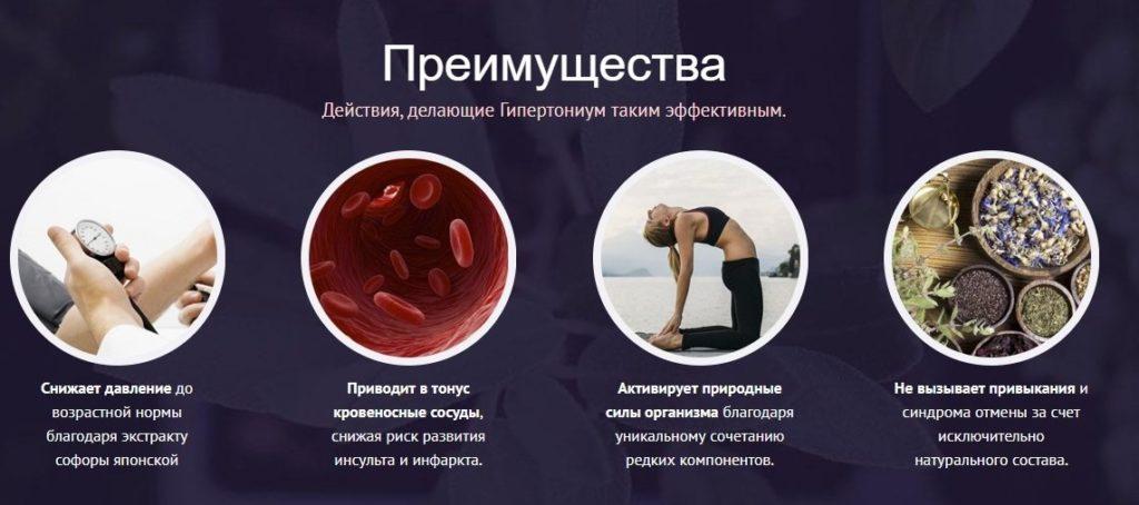 Лекарственный препарат Гипертониум приимушества