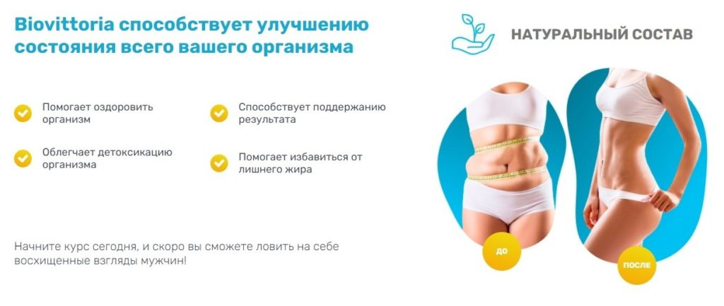 Капсулы для похудения BioVittoria
