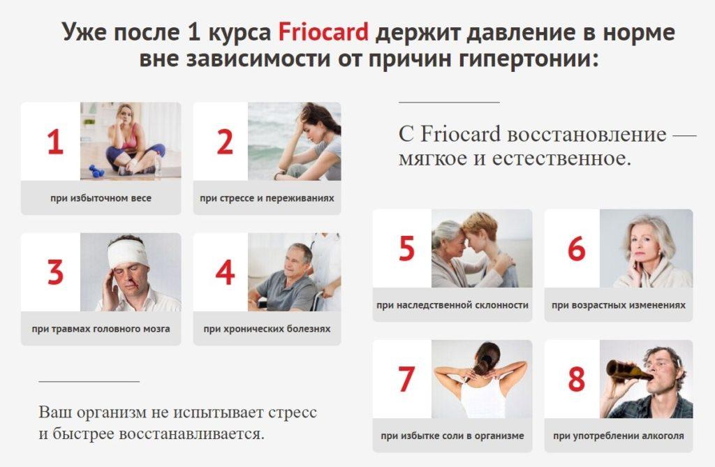 Фриокард (Friocard) для чистки сосудов 1 курс