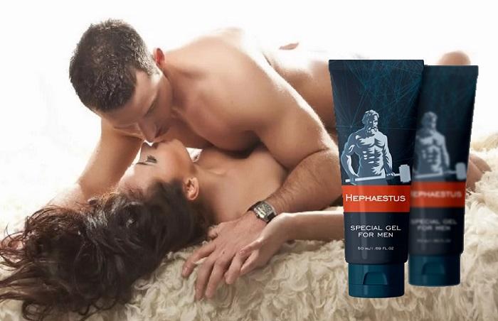 Hephaestus Gel для увеличение мужского пениса