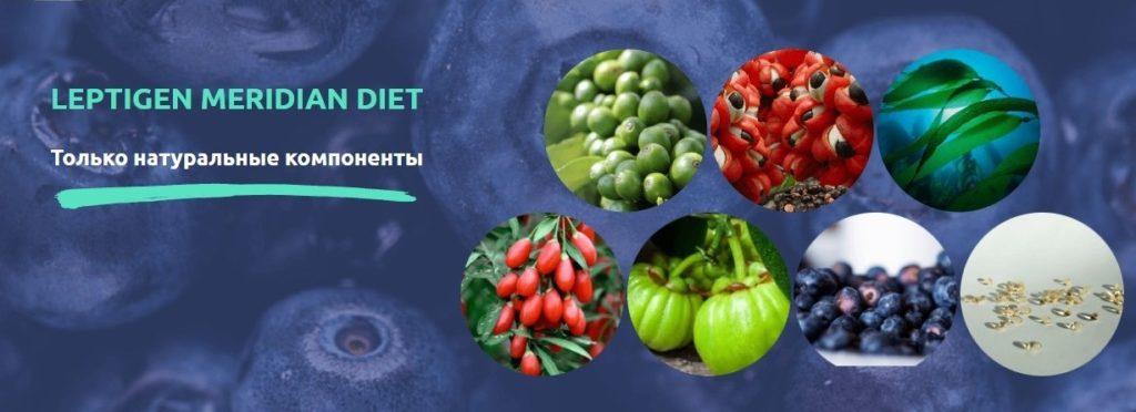 Leptigen Meridian Diet для похудения состав
