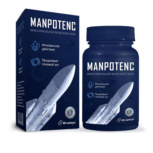 Капсулы Manpotenc (Мэнпотенц) для мужчин оригинал