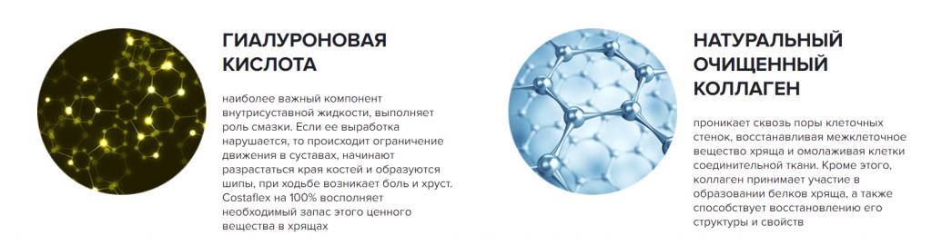 Препарат Costaflex (Костафлекс) для лечение суставов состав