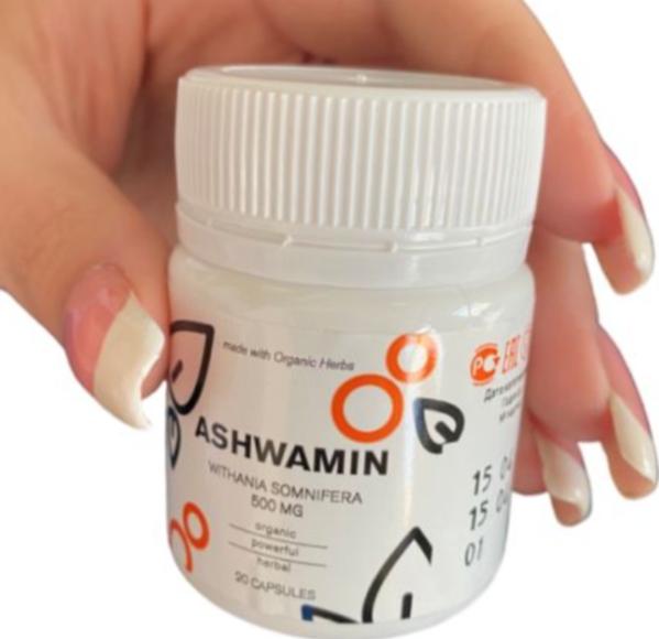Препарат Ashwamin от паразитов оригинал